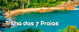 Tudo sobre a Trilha das Sete Praias em Ubatuba - Como fazer, praias da trilha, mapa, distância e dicas úteis para planejar e fazer a trilha