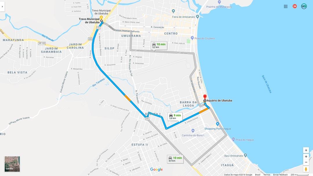 Como ir ao Aquário de Ubatuba - Como chegar no Aquário de Ubatuba