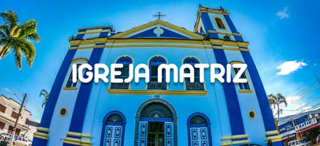 Fachada da Igreja Matriz de Ubatuba
