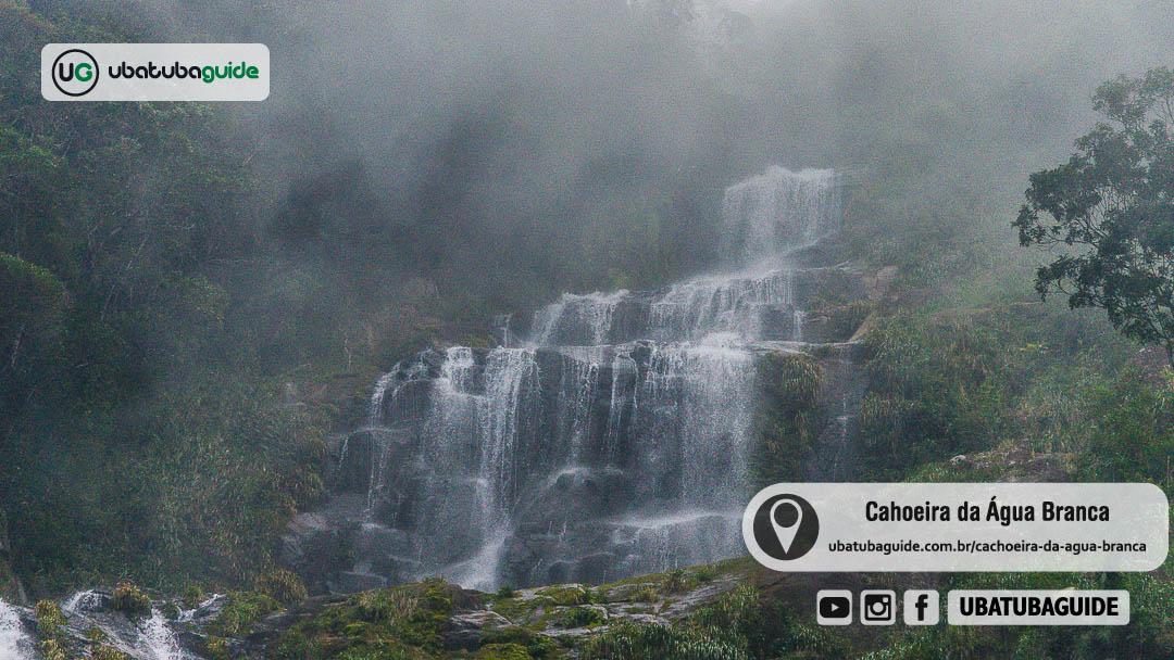 Registro da Cachoeira da Água Branca em Ubatuba