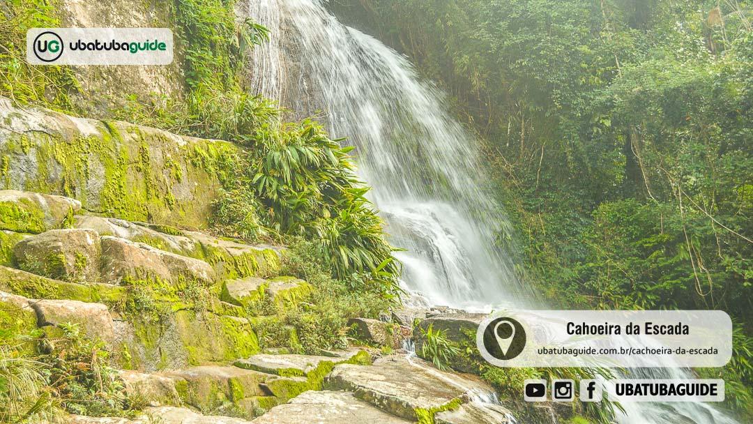 Registro da Cachoeira da Escada em Ubatuba