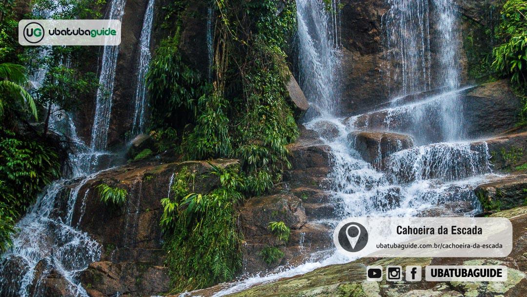 Cachoeira da Escada em Ubatuba