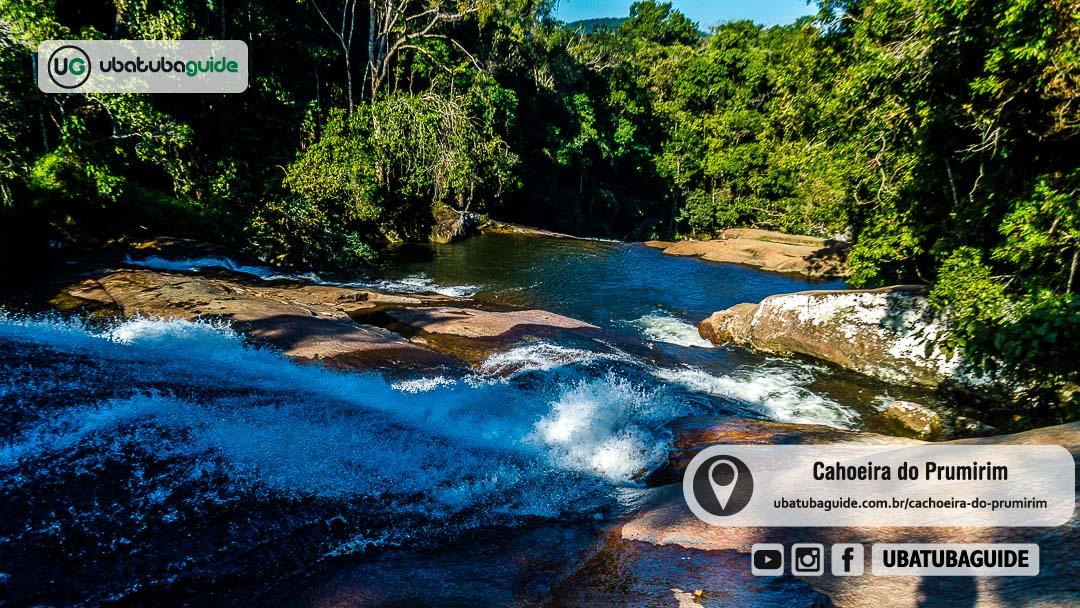 Cachoeira do Prumirim em Ubatuba