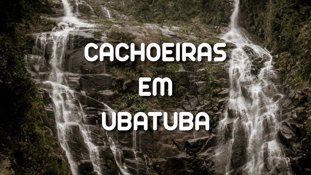 Cachoeiras em Ubatuba: imagem ilustrativa do artigo sobre as Cachoeiras de Ubatuba