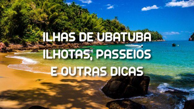 Imagem ilustrativa da página e índice das Ilhas de Ubatuba