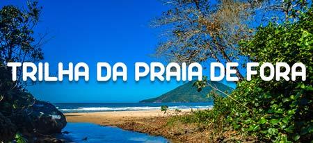 Imagem ilustrativa do link para a página completa da Trilha da Praia de Fora em Ubatuba