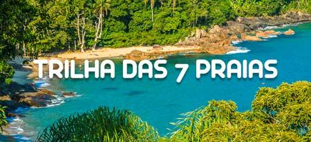 Imagem ilustrativa do link para a página completa da Trilha das 7 Praias em Ubatuba
