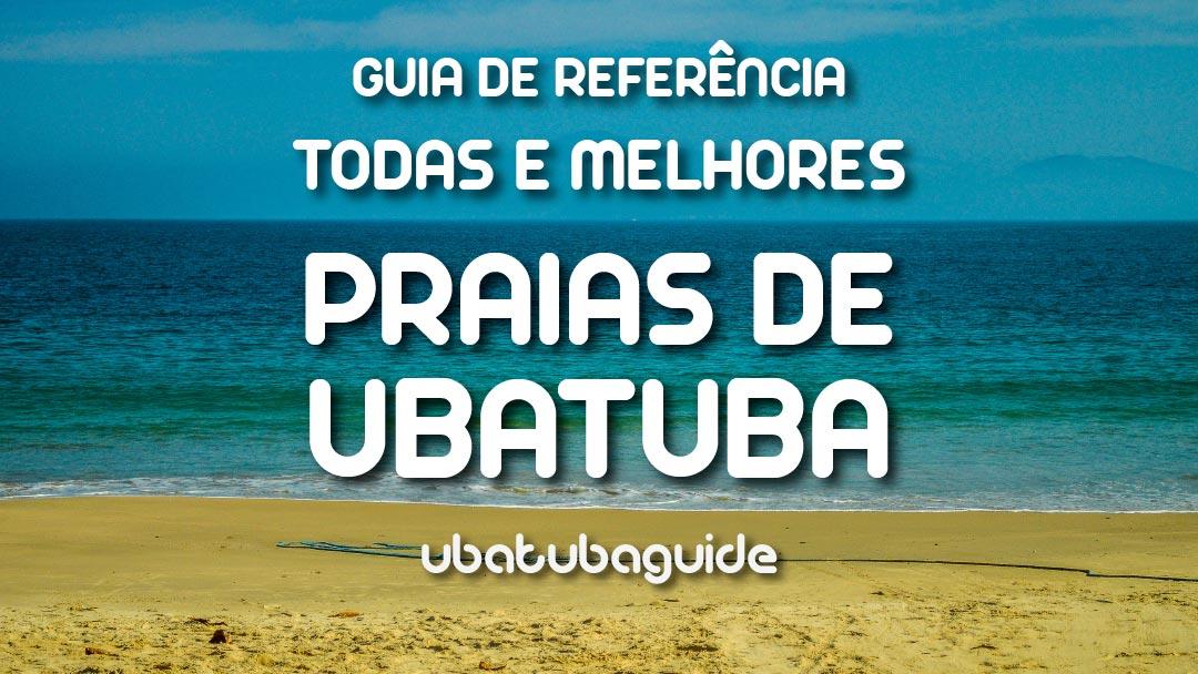 Imagem ilustrativa do Guia de Todas e Melhores Praias de Ubatuba