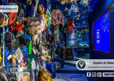 Espaço de conscientização sobre o Lixo no Mar