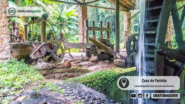 Imagem ilustrativa da página sobre a Casa da Farinha em Ubatuba