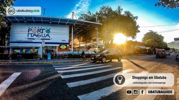 Fachada do Shopping Porto Itaguá, o principal shopping da cidade e um atrativo muito procurado pelos turistas