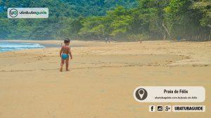 Praias de Ubatuba para ir com a família: Félix