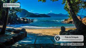 Praias de Ubatuba: Praia do Português