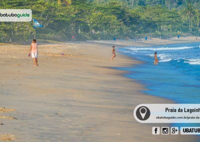 Muito próxima de Maranduba, para quem busca menos agito e uma boa opção de praia para entrar no mar com segurança, a Praia da Lagoinha é uma ótima escolha.