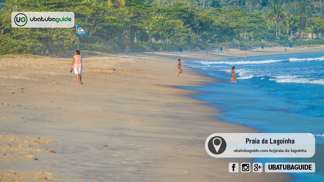 Muito próxima de Maranduba, para quem busca menos agito e uma boa opção de praia para entrar no mar com segurança, a Praia da Lagoinha é uma ótima escolha, além, claro, de ser um dos pontos de início/fim da Trilha das 7 Praias
