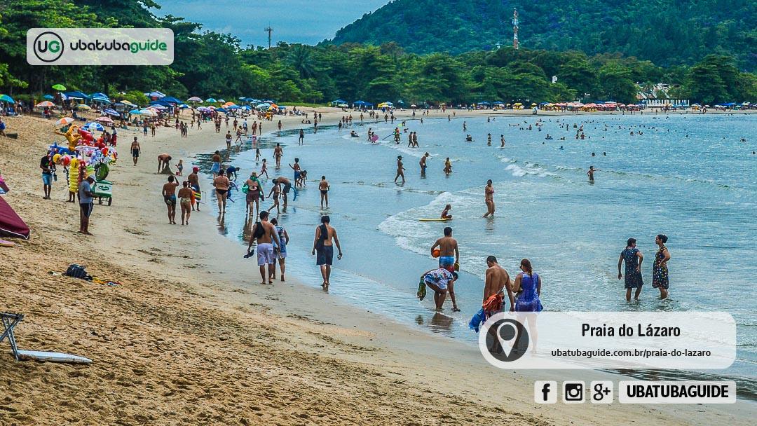 A Praia do Lázaro é uma das melhores praias de Ubatuba para famílias na região sul