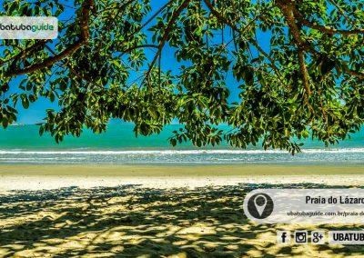 A Praia do Lázaro é uma das mais procuradas em Ubatuba por banhistas e famílias com crianças