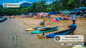 Praias de Ubatuba: Praia da Santa Rita