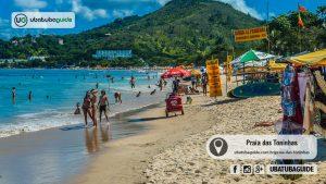 Praias boas para famílias em Ubatuba: Toninhas