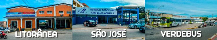 Rodoviárias de Ubatuba: Litorânea, São José e Verde Bus