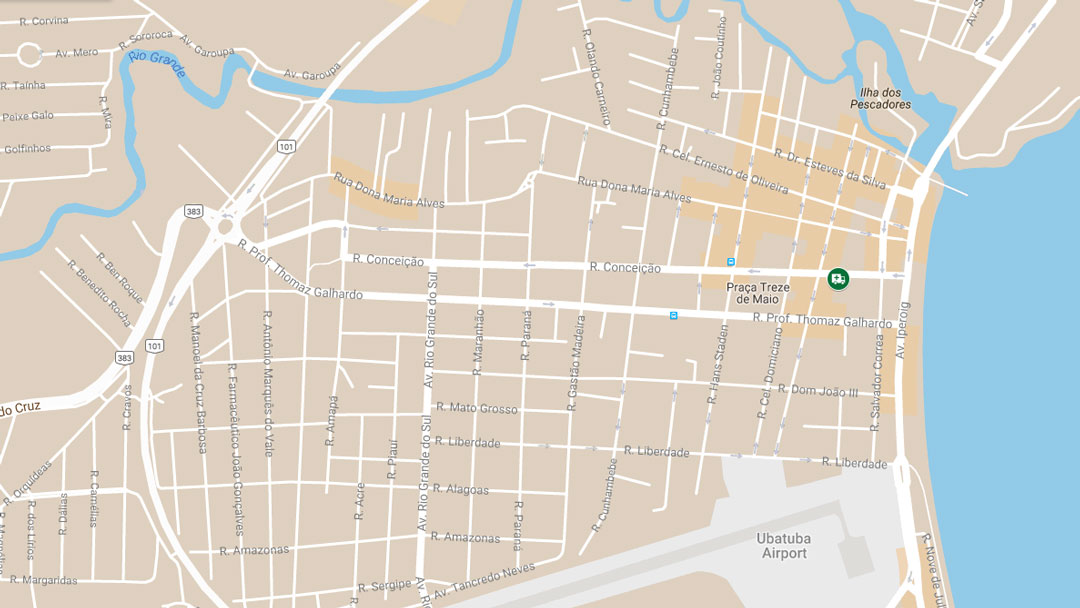 Pronto Socorro Ubatuba - Santa Casa de Ubatuba - Como chegar